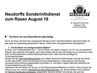 Infodienst/Newsletter