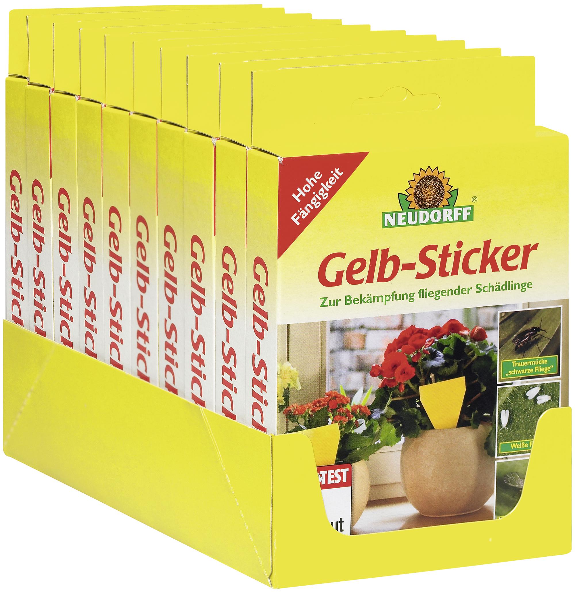 Neudorff : Gelb-Sticker